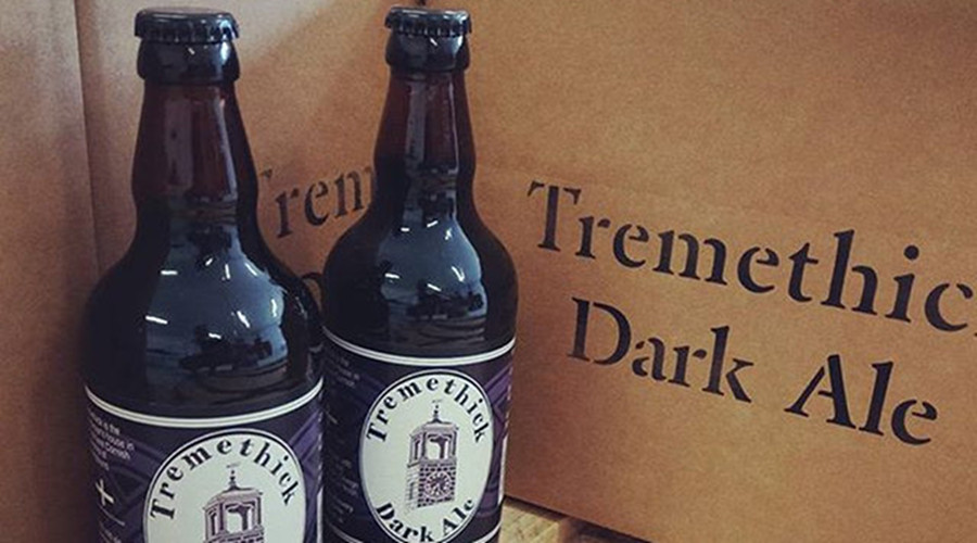 Tremethick Dark Ale packaging